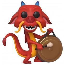 Mushu avec son gong - Mulan - Funko