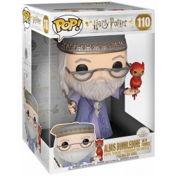Dumbledore & Fumseck - Harry Potter - SuperSized Pop!